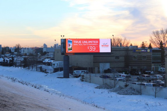 16mm 14x48 Digital LED Billboard