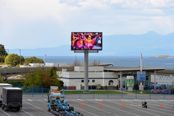 16mm Outdoor Digital LED Display