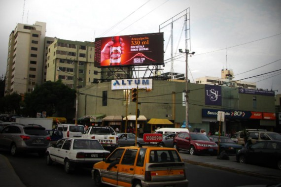 20mm Digital LED Billboard Peru
