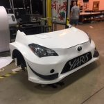 A Toyota Yaris created by the 3D Team at Media Resources in Oakville Ontario. Created using our 3D Carving machine, hand finished and hand painted