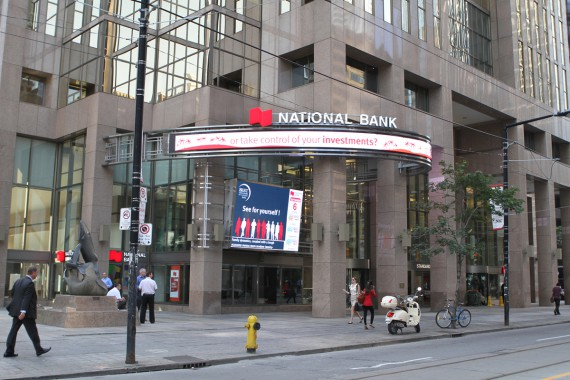 New LED Displays for National Bank of Canada