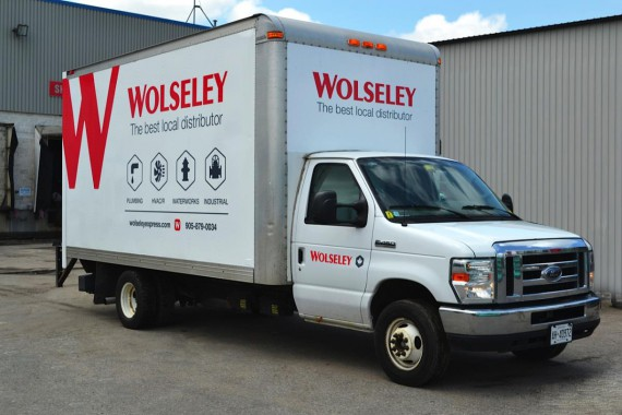 Wolseley Truck Wrap