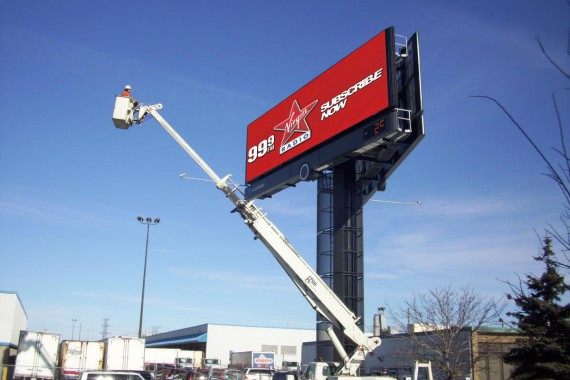 billboard installation, billboards, grant signs, installation company, LED sign installation, media resources, media resources inc, sign company, sign industry, sign installation