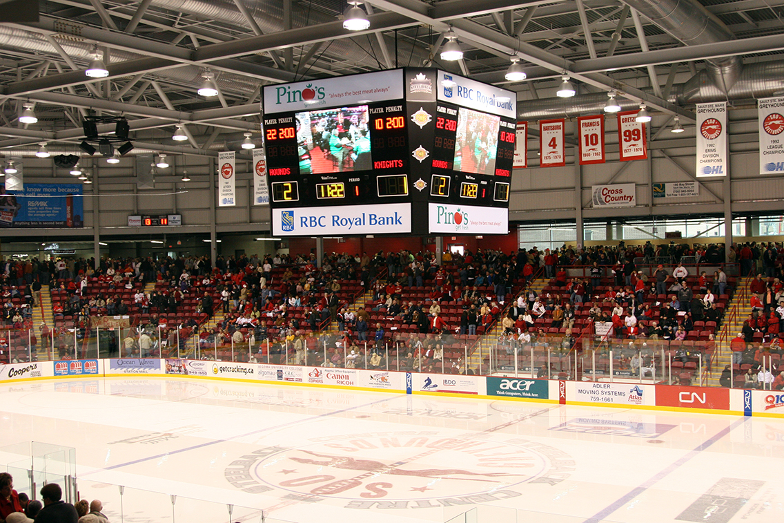 Digital Sports Arena Signage