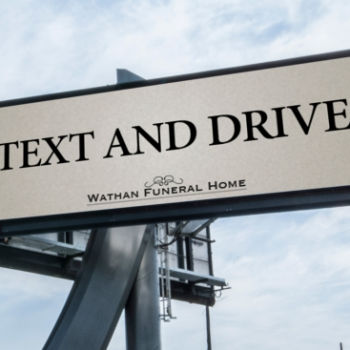 Texting and Driving Billboard Makes News