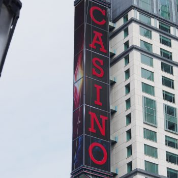 Fallsview Casino Canadas largest LED sign