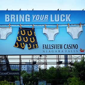 Fallsview_billboard ad casino Canadian gaming summit