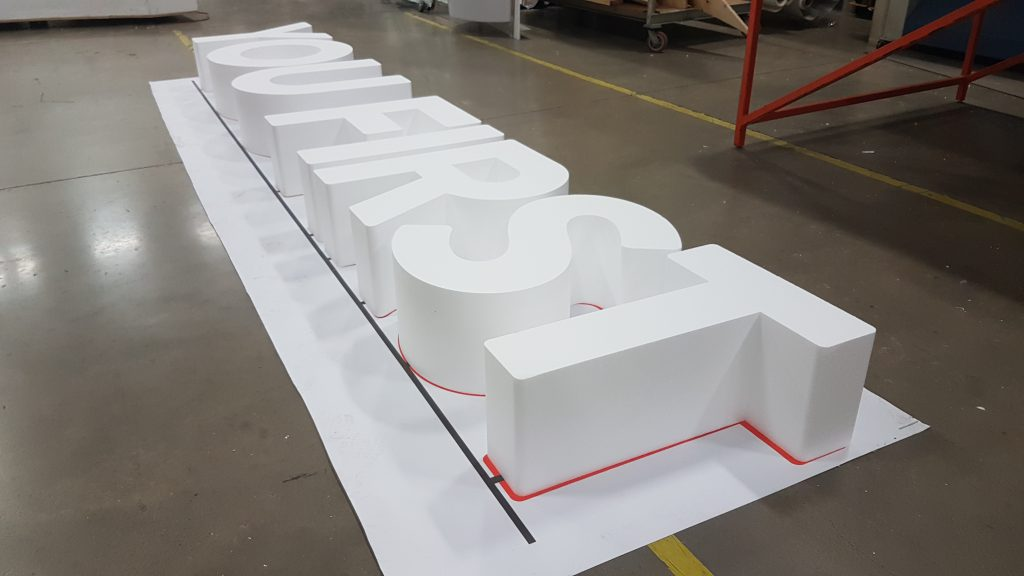 3D Fabrication | Custom Transit Shelter | Out of Home Advertising | Sign Installation