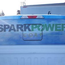 Truck Wraps printed and installed by Media Resources Inc