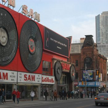 Media Resources Selected to Install Iconic Toronto Sam the Record Man Sign