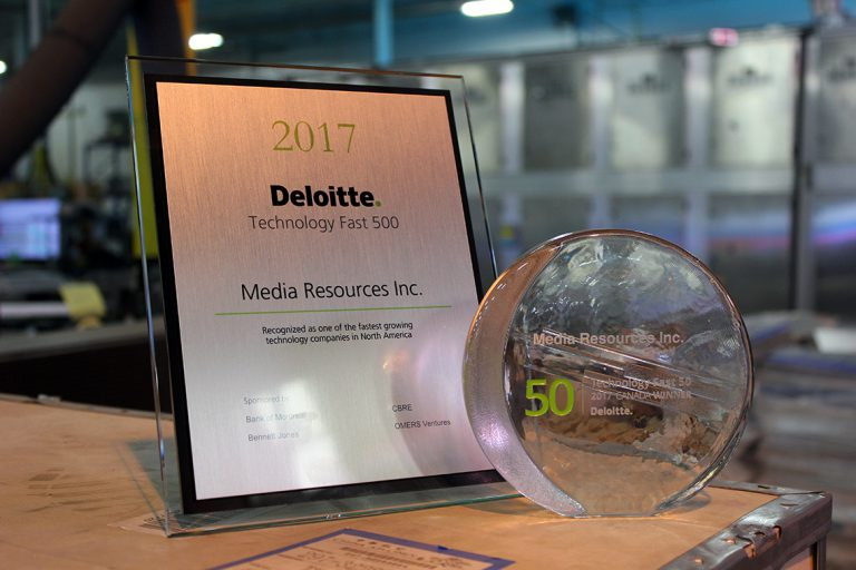 Media Resources named a Technology Fast 50™ company & one of the Fastest Growing Companies in North America on the 2017 Technology Fast 500™ by Deloitte LLP