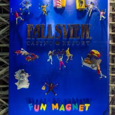 Media Resources Fallsview Casino 3D Printed Fun Magnet Billboard