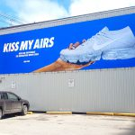 Nike Airs Large Format Print Custom Billboard