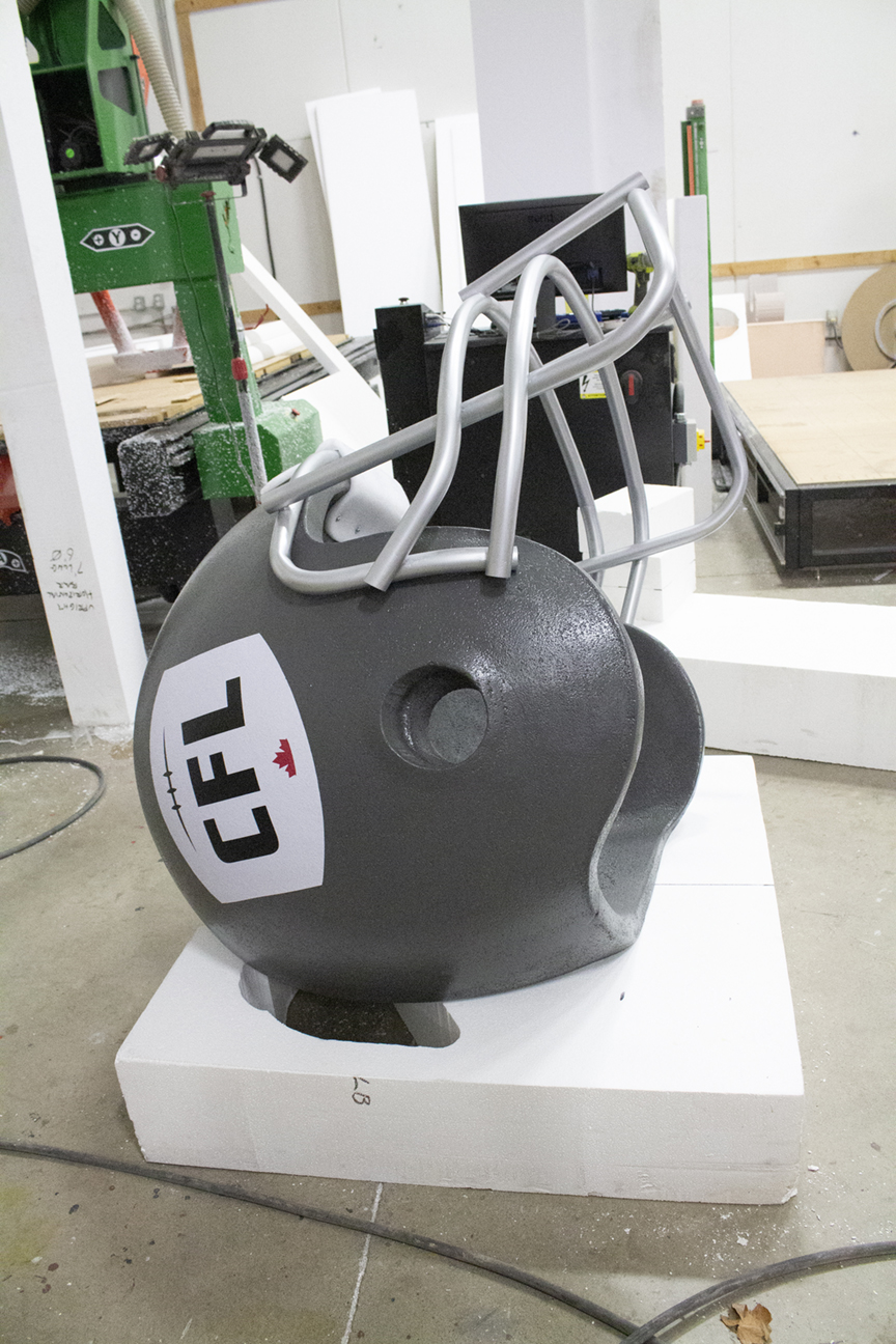 CFL Football Helmet for Grey Cup