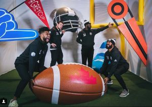 RedBlacks Lift 3D Football by Media Resources