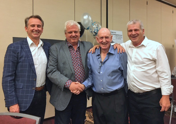 Jeff Rushton & Keith Edwards Co-Owners MRI; Wayne Johnston; Terry Paskal VP Operations