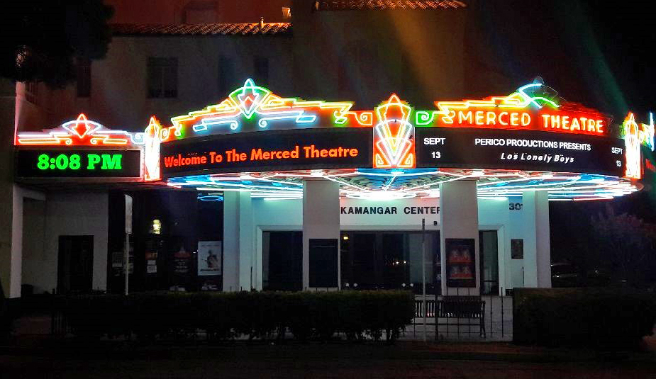 Merced Theatre, Night, MRI, 10mm RGB