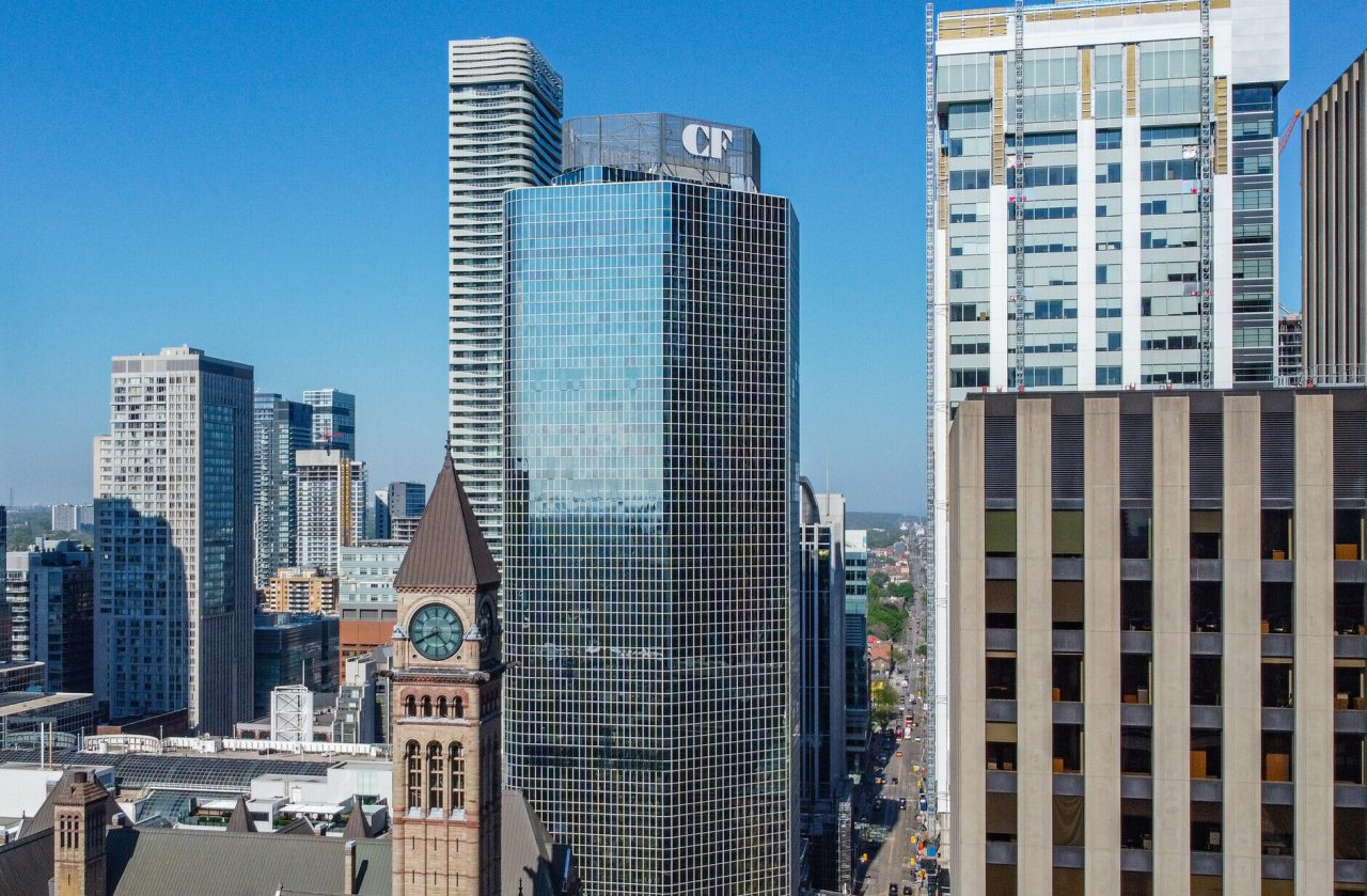 Cadillac Fairview channel letter completed installation