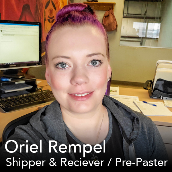 Oriel Rempel at Office