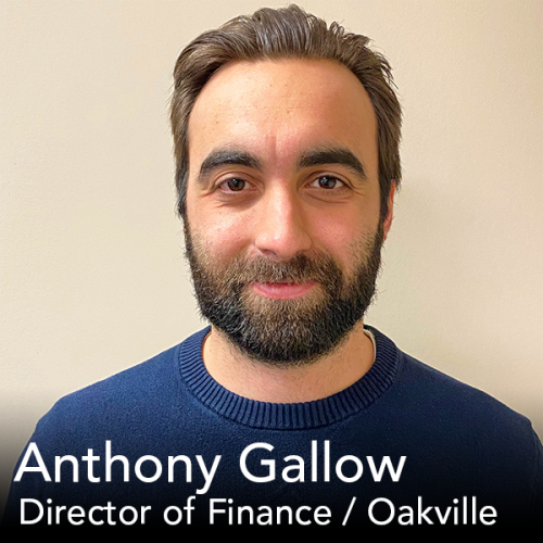Feature Friday Director of Finance media resources oakville ontario