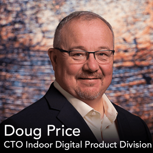 Feature Friday Headshot of CTO Indoor Digital Product Division